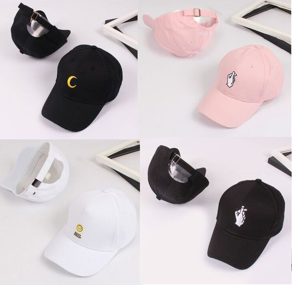Korea Fashion Men Sport Letter Embroidery Baseball Caps Women's Casual Hip Hop Snapback Hats Casquette Gorras