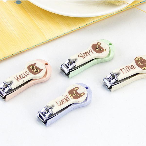 1pc Cartoon Cute Protable Nail Clipper Cutter Professional Manicure Trimmer Toe Nail Clipper Cuticle Nipper High Quality
