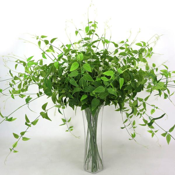 Acheter Nouvelle Arrivee Artificielle Plante Vignes Mur Suspendu Plante Verte Decoratif Simulation Plantes Orchid Faux Fleur Rotin Chambre De 1 01 Du