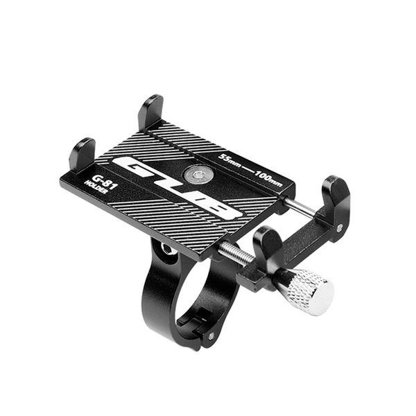 In lega di alluminio Bike il supporto del telefono 3,5-6,2 pollici Cellulare del supporto GPS bicicletta supporto bicicletta staffa