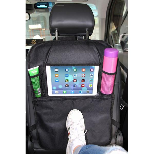Bolsos assento de carro Voltar Organizer Auto Back Seat Hanging isolamento Multi- bolso saco de viagem com malha