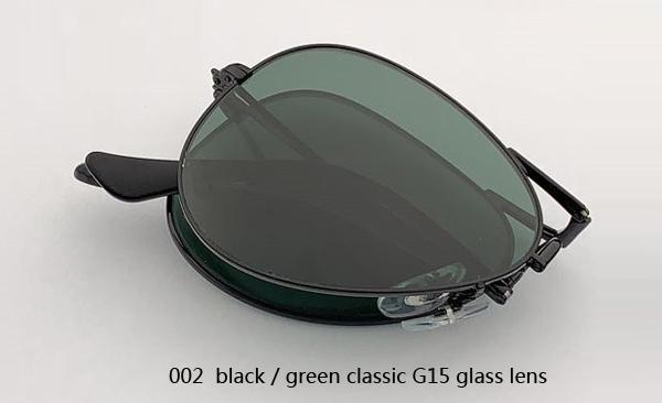 002 أسود / أخضر كلاسيكي G15