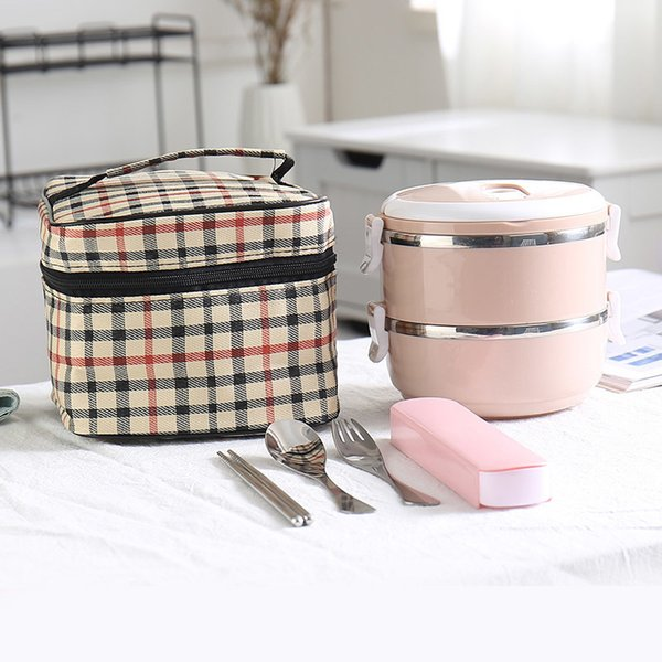 Pink 2 Layer And Bag