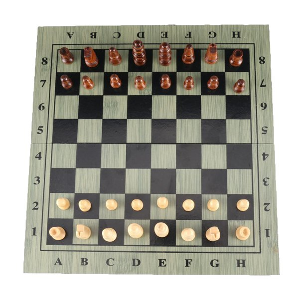 best selling Handmade International Travel Chess Set Pieces Board Game Toy