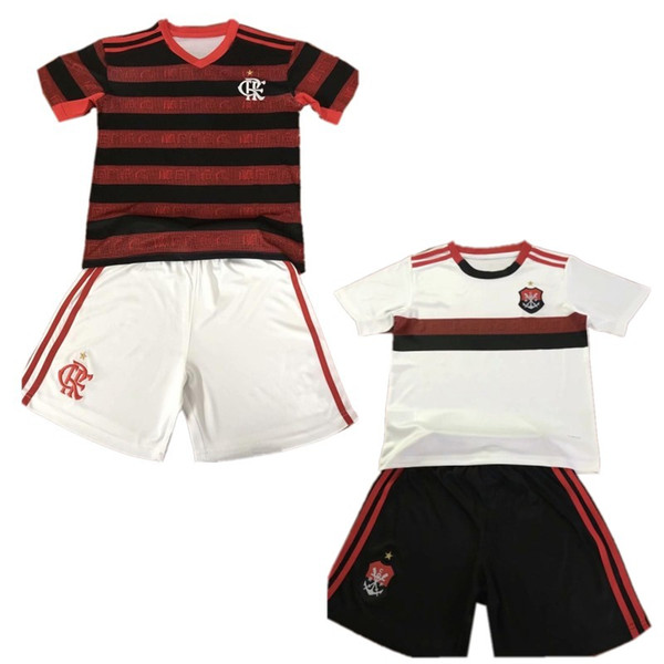 2019/20 Flamengo Çocuklar kiti 2020 E. RIBEIRO GABRIEL B. Futbol Forması Erkek DIEGO MANCUELLO DE ARRASCAET B. HENRIQUE Çocuk Futbol Gömlek