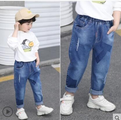 9035 pantalones vaqueros delgados