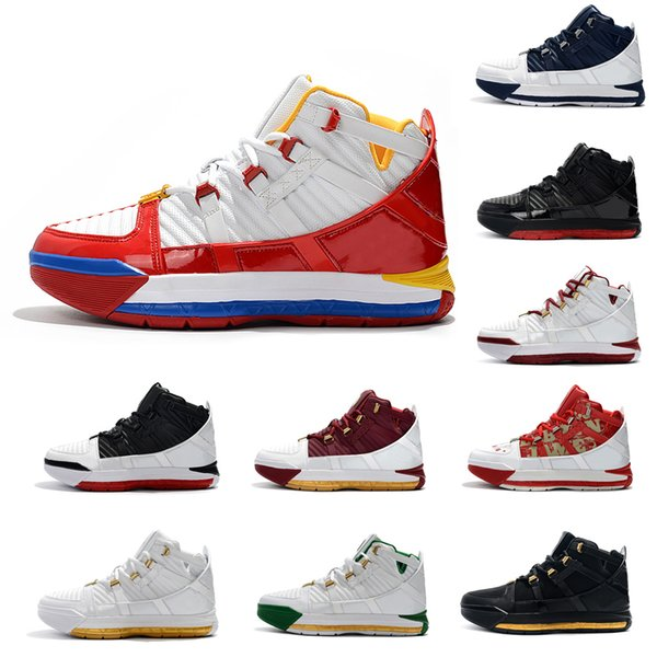 top popular 2019 new original superman point percentage home svsm release all navy star lebron 3 SuperBron outdoor basketball shoes 2020