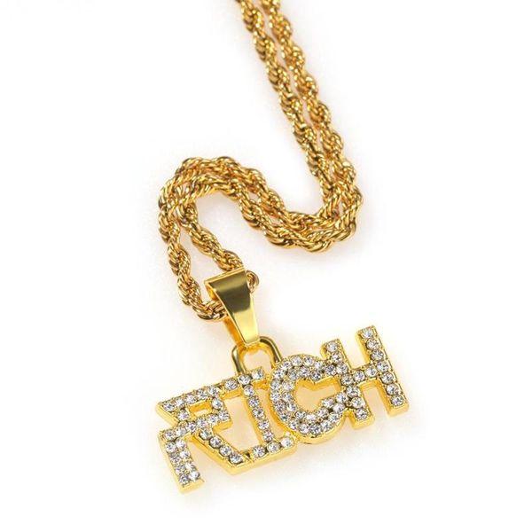 Gold 1 24inch de la chaîne cubaine (60 cm)