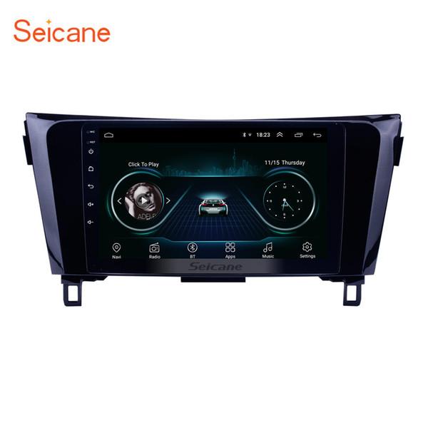 Lecteur multimédia multimédia multifonctionnel Android 8.1 à écran tactile de 8,1 pouces pour 2014 Nissan QashQai avec support GPS GPS Navi Mirror Link OBD2