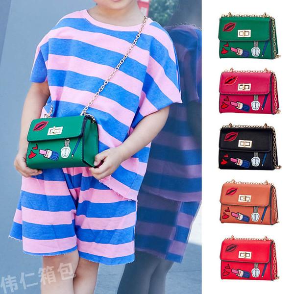 2019 Nouveau Mode Filles Sacs enfants designer sac Mignon Sacs À Main Épaule Sac Enfants Messenger Sac Mini occasionnels petites filles bourses A3060