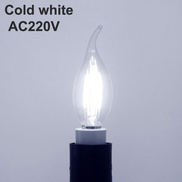 بارد الأبيض NO يعتم AC220V