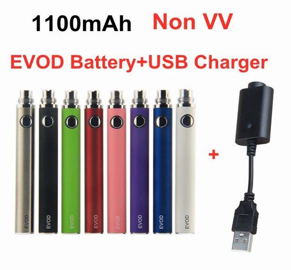 EVOD 1100mAh Battery+USB Charger