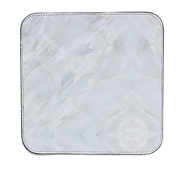 Anti-slip Marble Print Mouse Table Pad Square Waterproof and non-slip design Mouse Mat for Home School Office
