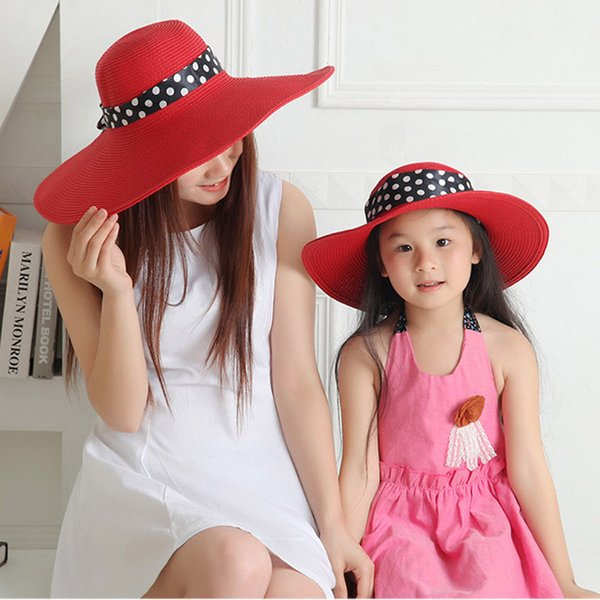 0f5d7639 Ladies Floppy Straw Hats Wholesale Blanks Wide Broad Straw Hat Casual  Summer Sun Hats DOM106127