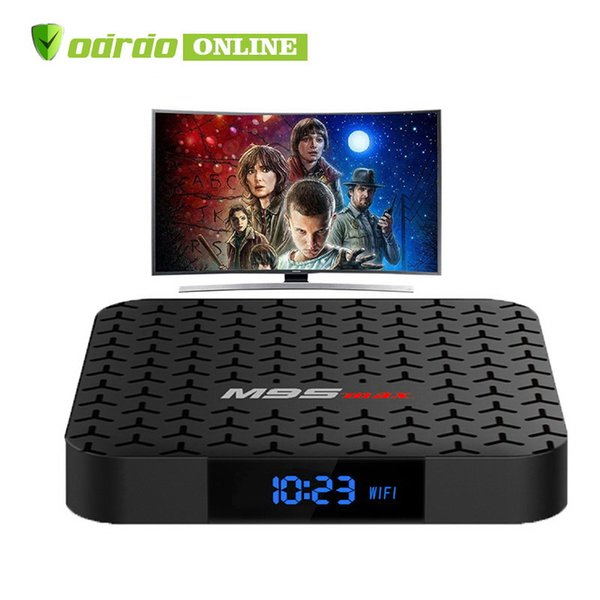 2019 M9S MAX Amlogic S905W Android 7.1 TV BOX 2GB 16GB Quad Core HD 4K WiFi Smart Streaming Media Player PK x96 TX3 mini S905X S912 T95Z