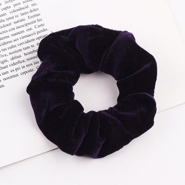 Black Hair Scrunchies