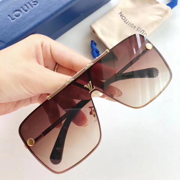 Moda de Alta Qualidade Dos Homens Das Mulheres Designer de Moda Óculos De Sol De Luxo Óculos de Sol Adumbral Óculos de Praia UV400 L Super Qualidade com Caixa