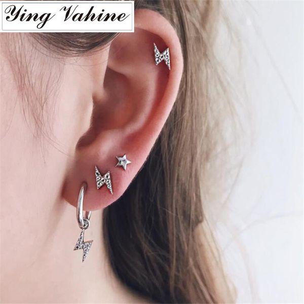 Ying Vahine Boucles D'oreilles Bijoux Fantaisie Star Stud pour les Femmes Boucles D'oreilles Coréennes 2019 bijoux