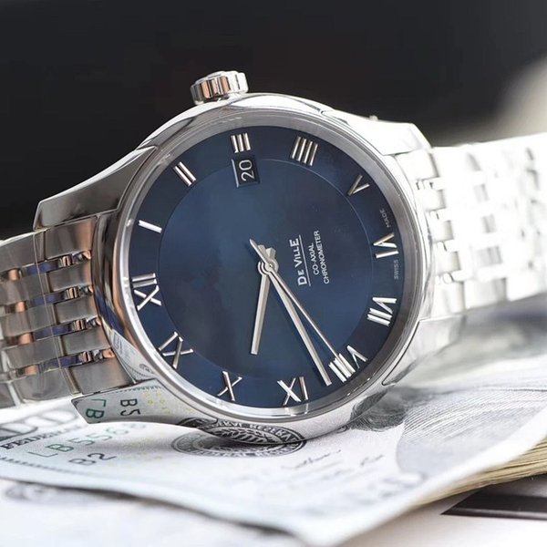 Luxury men's watch Sapphire mirror (Swiss standard) imported mechanical movement 8500 sports waterproof watch man watch DHL Free shipping