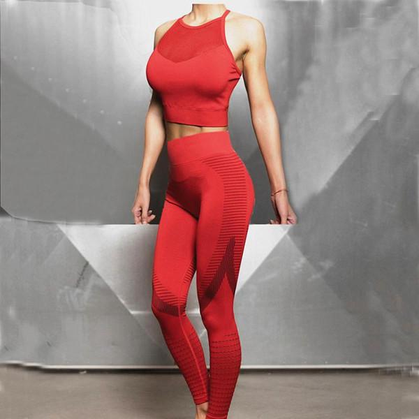 CB254 red pant set