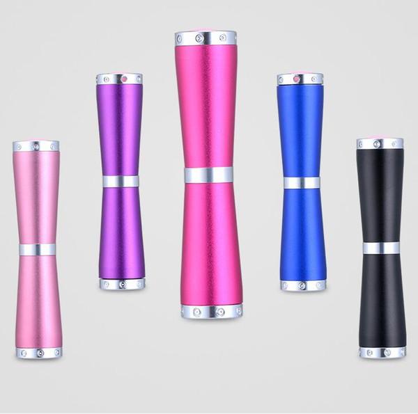 365nm feneri mini taşınabilir açık cep alüminyum cree meşale lambası meşaleler floresan ajan dedektörü led UV lambaları el feneri led