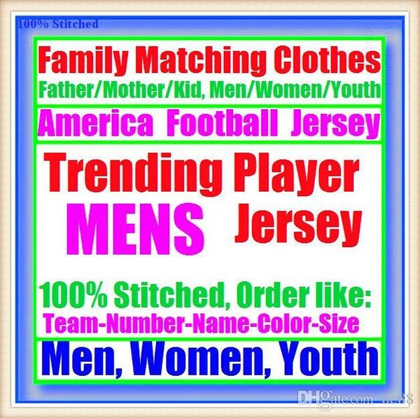 All Stitched Custom american football jerseys Miami Pittsburgh college authentic cheap baseball basketball mens womens youth USA 4xl tshirts