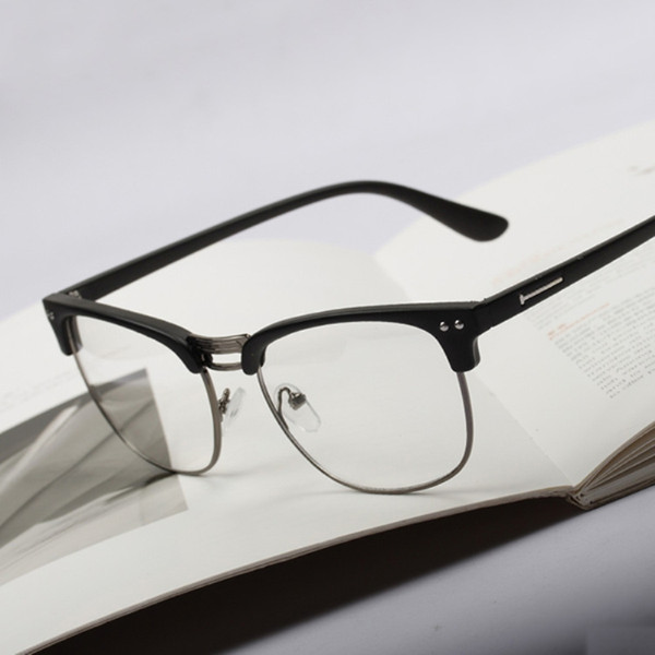 Classic Vintage Eye-glasses Retro Trend Hipster Style Men/'s Women/'s Clear Lenses
