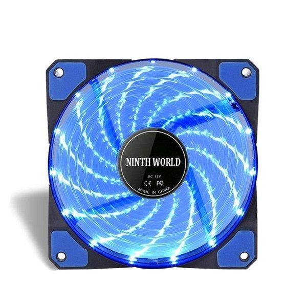 1 جهاز كمبيوتر شخصى مروحة الزرقاء