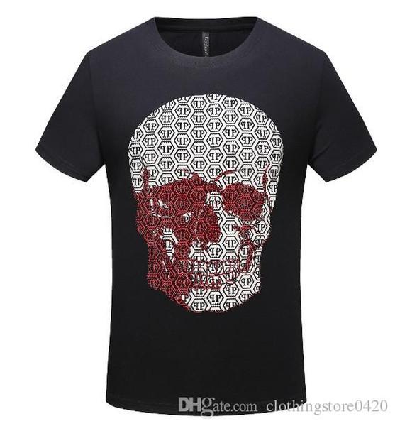Yeni Balr Tasarımcı T Shirt Hip Hop Erkek Tasarımcı T Shirt Moda Marka Mens Womens Kısa Kollu Büyük Boy T Shirts1129