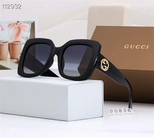 Beliebte Sonnenbrille für Frauen tragen Box Sommer voller Bilderrahmen hohe Qualität UV-beständig Mixed Ribbon Verpackungsbox
