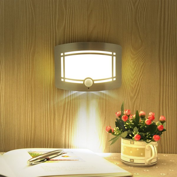 Intelligent human body induction light control wall lamp New strange bedroom night light LED cabinet light