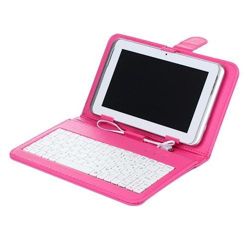 Hot Keyboard Case Moda Pad Capa Shell Teclado Casefor Tablet de 7 polegadas