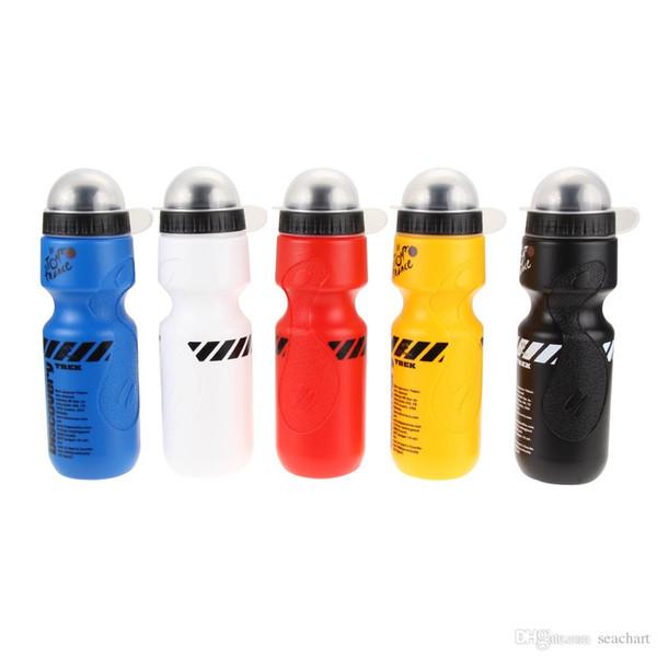 Tragbare 650 ml mountainbike fahrrad wasserflasche ätherisches outdoor sports drink krug fahrrad wasserflasche auslaufsichere tasse 5 farben sc112