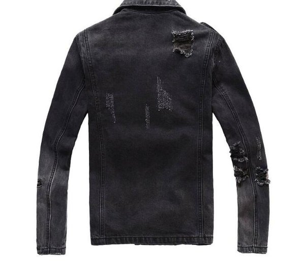 2019MNBalm Mens Designer Jackets Fashion Men Women Denim Jacket Casual Hip Hop Designer Jacket Mens Clothing Size M-4XL