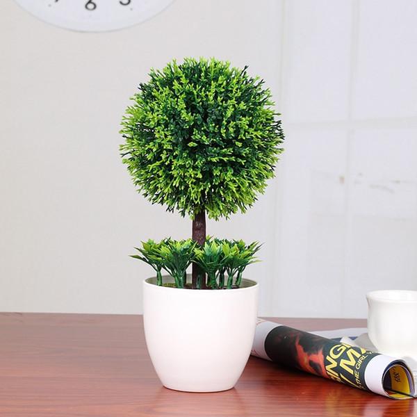 Snowball Simulation Plant Бонсай Искусственные Цветы Для Свадебного Украшения Обои Зеленые Растения В Горшках Украшение Дома