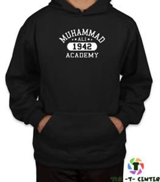 Muhammad Ali Academy Mens Boxing HOODIE Training Top MMA Martial Arts Gym AJ