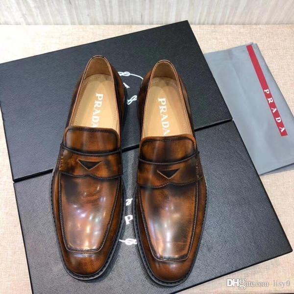 2020SS sapatas do projeto Mais novos sapatos confortáveis patentes sapatos de inverno marca ar luxurys thrasher Suede couro preto Tamanho US6.5-11 CONNOR