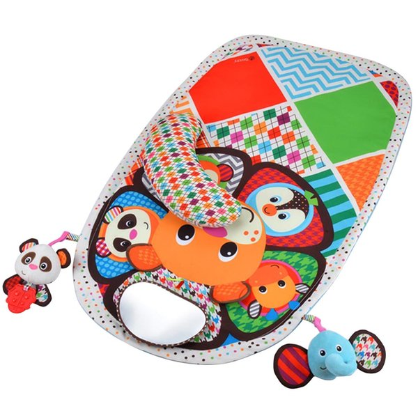 Baby Toys Play Mats Kids Rug Toy Developing Mat Floor Rug Animal Rattles Infant Play Learning Mat For Children