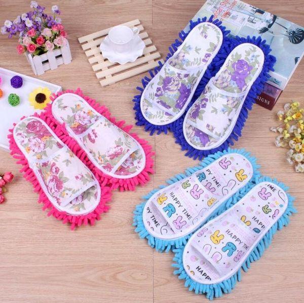 Faule Reinigung Fußreiniger Schuhe Mikrofaser Weiche Tragbare Schuhe Badezimmer Boden Staubschutz Home Cleanning Tools CCFYZ18
