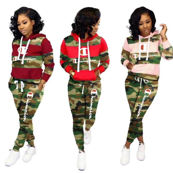 Womens Two Piece Set Outfits long sleeve and long pants Tracksuit casual Jogging Sport Suits Sportwear fashion women clothing klw2540
