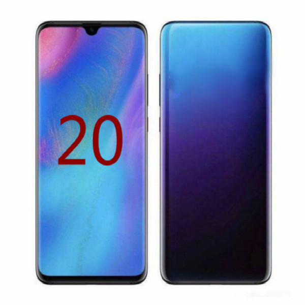 "top popular 2020 Goophone 20Plus 20+ 20U MTK6580 Quad Core 1GB RAM 8GB ROM 6.5"" 8MP 3G WCDMA shows Fake 5G Phone with Sealed Box 2020"