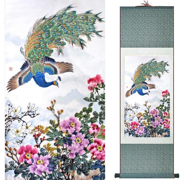 Blumen, die chinesische traditionelle Kunst malen, die Inneneinrichtung paintings20190905001 malt