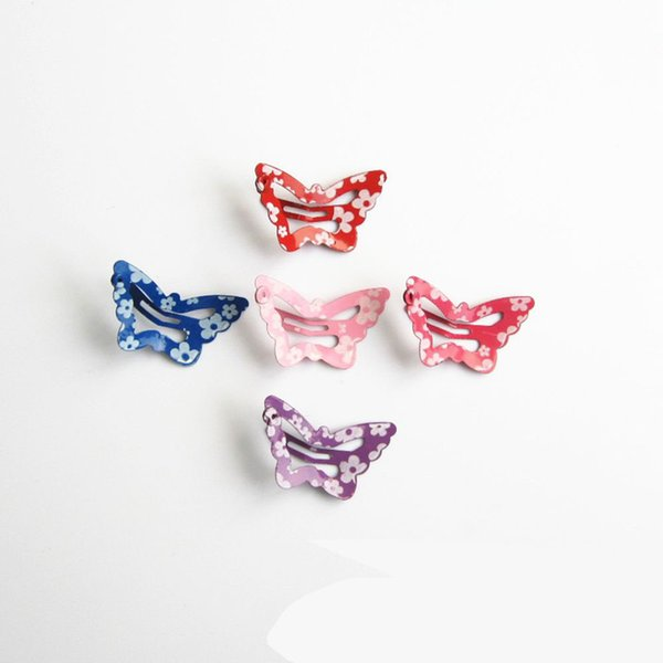 1 PCs New Fashion Charming Hair Accessories Retro Butterfly Hairpins Crab Mini Hair Clips For Women Girls Headwear Jewelry