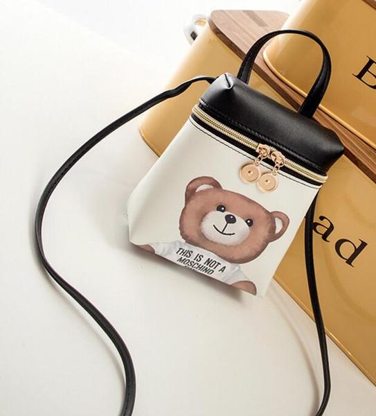 Niños estilo simple bolsas de hombro para niños estrenar mini carteras niños pequeño bolso de cuero preescolar niñas mensajero bolsas niños bolsa
