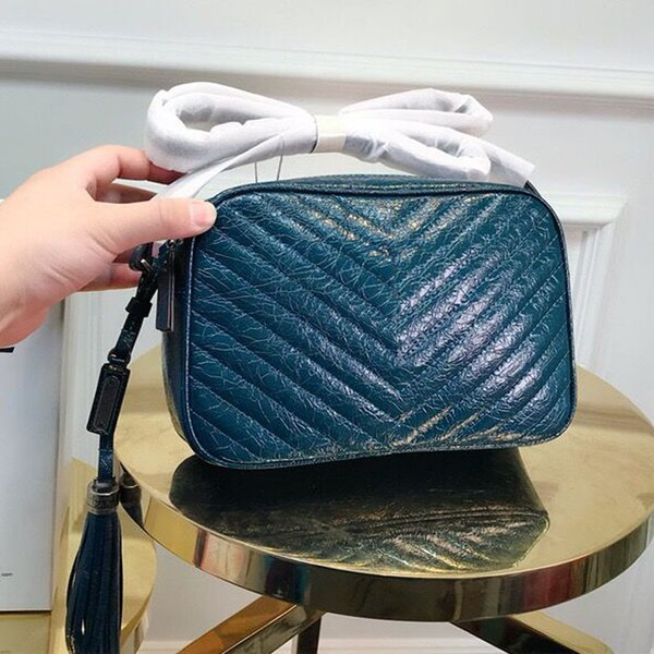 designer women Genuine Leather bags handbags designer shoulder Messenger bag fashion ladies tassel bag small