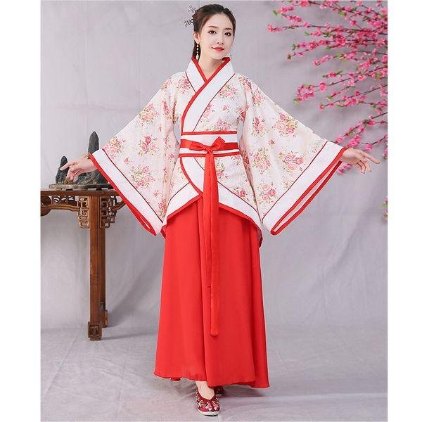 Weibliche Alte Dramaturgische Kostüm Königin Kleid New Qufu Hanfu Frauen im chinesischen Stil Gestickte Erwachsener Ritual Bühne Kleid 120401