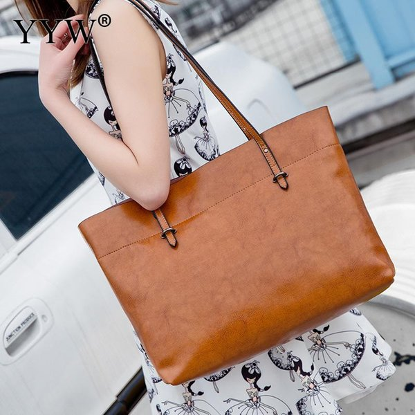 grey Cowhide large capacity Shoulder Bags handbag women 2019 Shoulder Bag bolsa feminina shopping bags elegant party clutch red