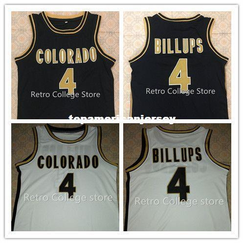 # 4 Chauncey Billups Colorado Buffaloes College Jerseys de baloncesto Retro Top Stitched McDonald ALL AMERICAN jersey vest Jerseys Ncaa