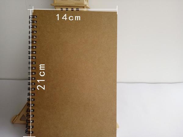 Acheter Spirale Livre De Croquis Vierge Cahier Creatif Pour Les Etudiants Et Le Carnet De Croquis Personnalise De Bureau En Gros Livraison Gratuite De