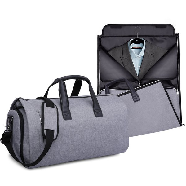 Travelling bag Large capacity folding package Multi-function fitness Kit Men's suits take bags Travel package Male and female one shoulder i